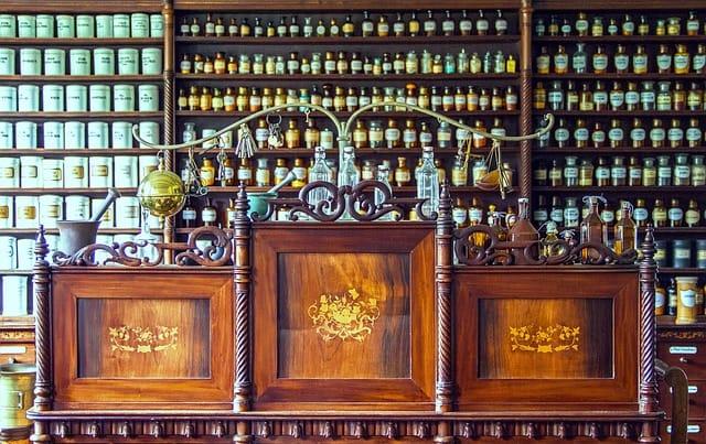 décoration de pharmacie